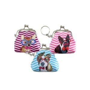 $10 or Less Item: NEW! Mini Coin Purse/Key Chains